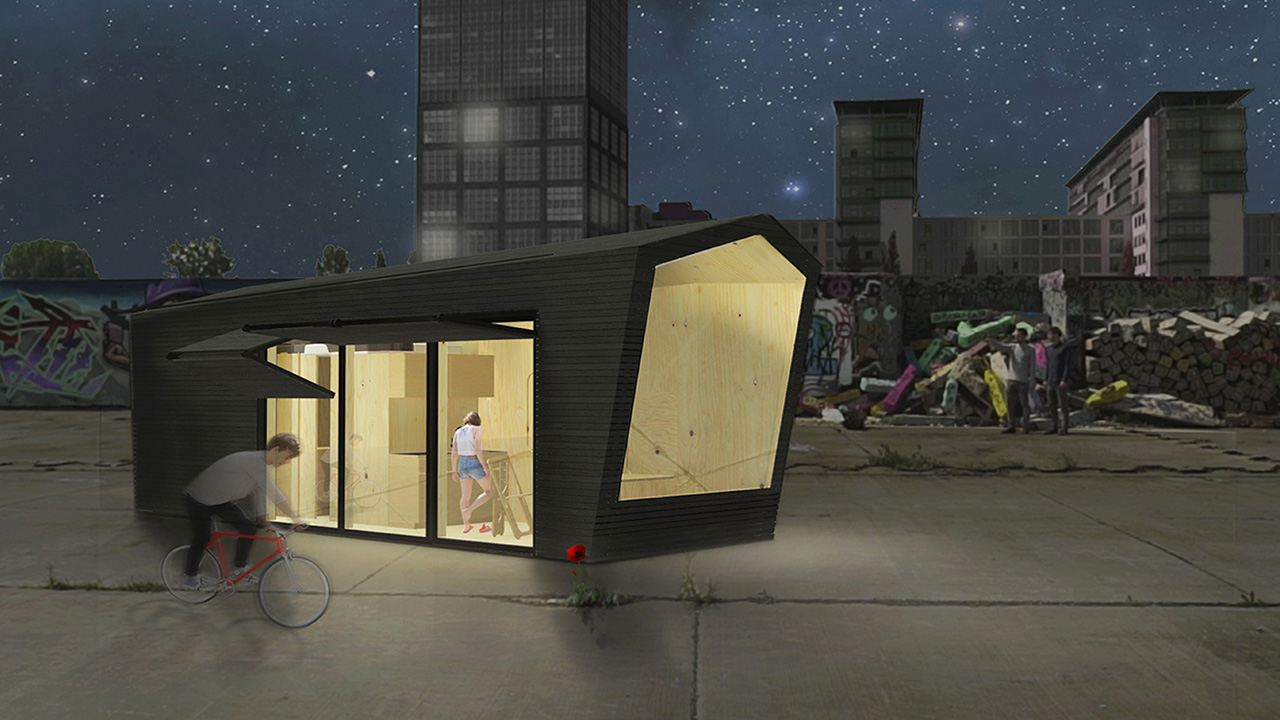Tiny House Vision © Cabin Spacy