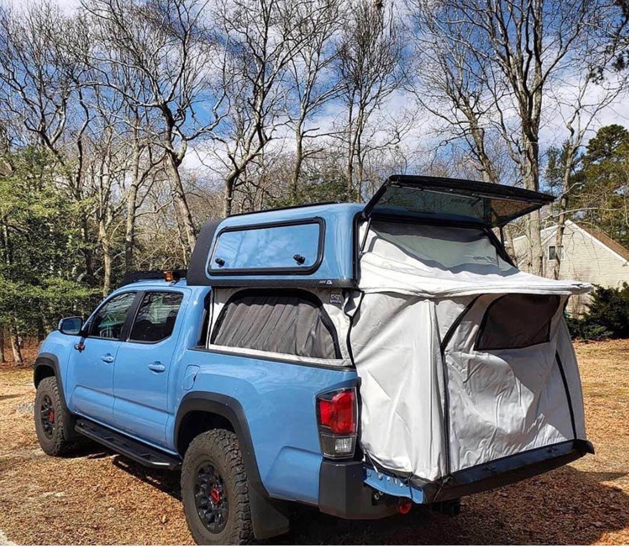 Zelt pickup Iceland Camping
