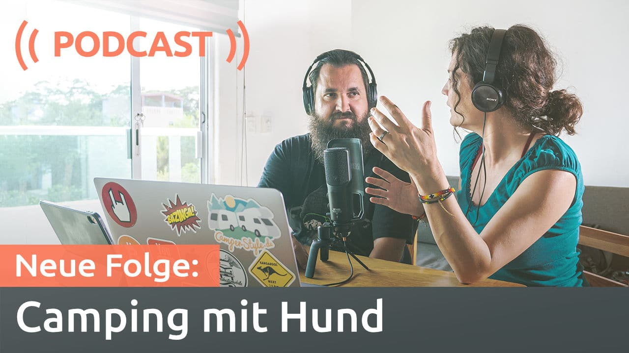 Podcast: Camping mit Hund